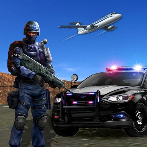 Prison Transporter Police Car