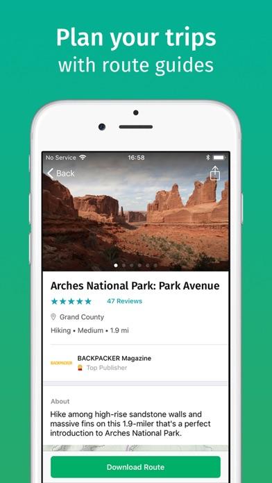 Viewranger review screenshots