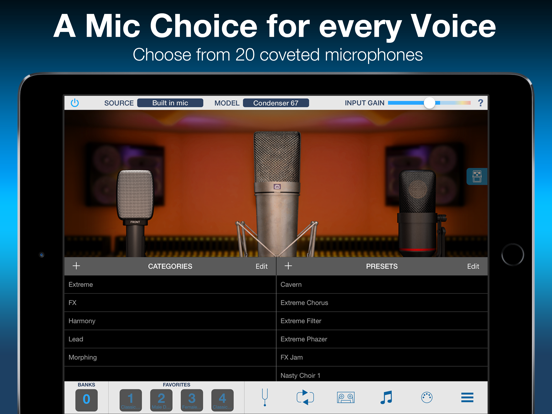 VocaLive CS for iPad screenshot one