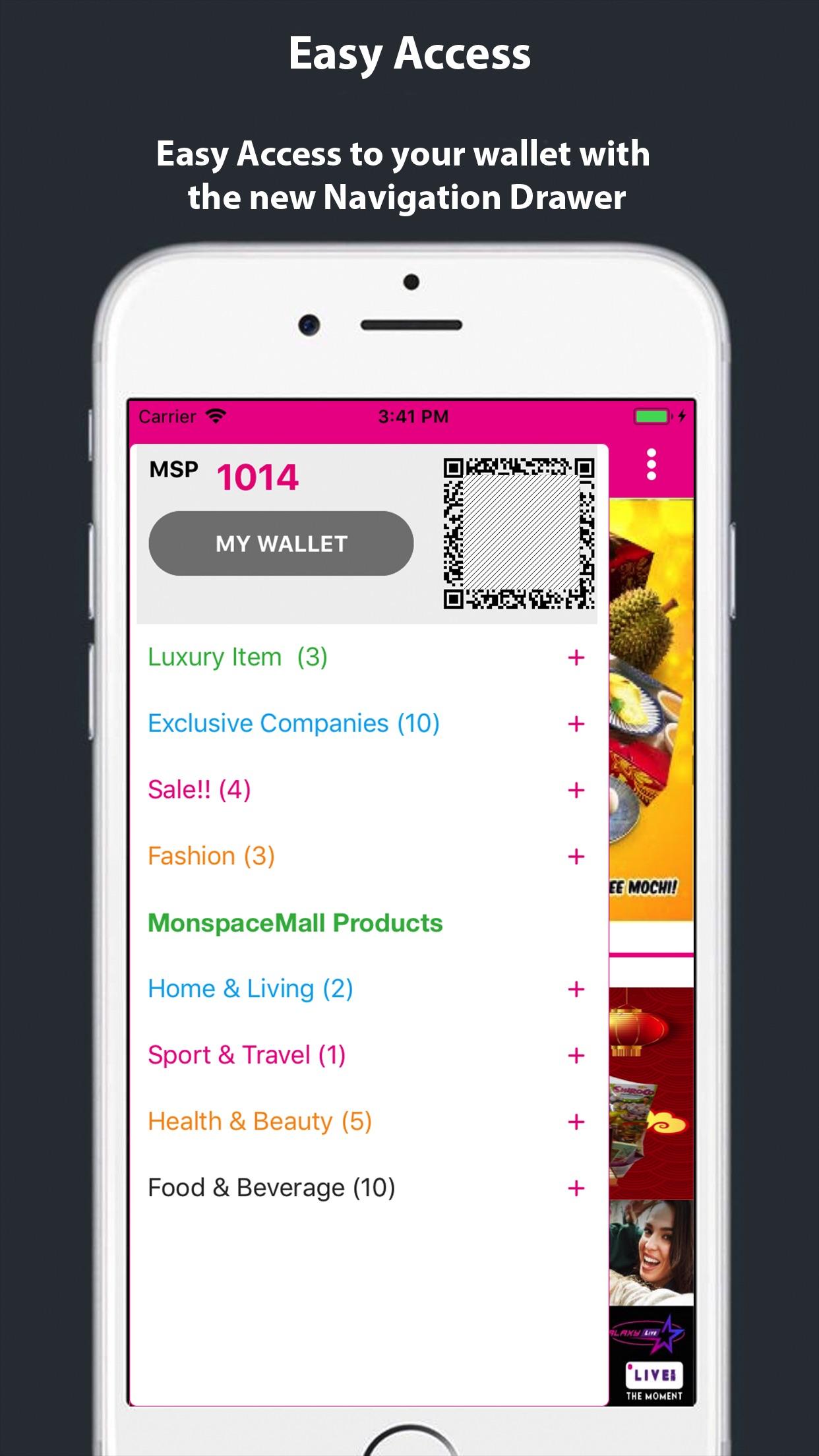 Monspacemall Screenshot