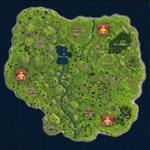 Fortnite Chest Map pour pc