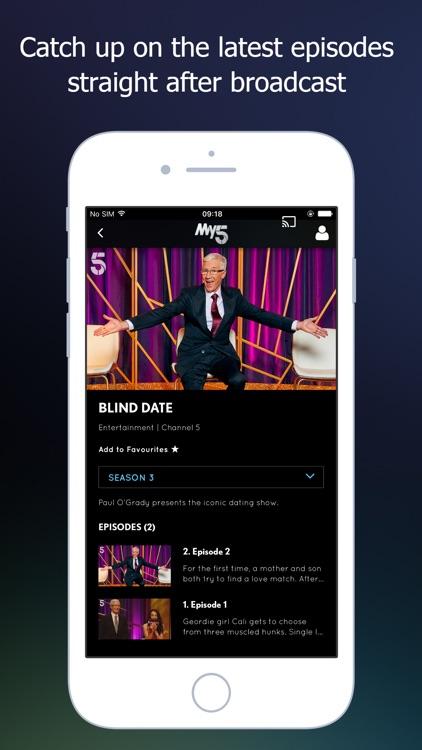 My5 - Channel 5 screenshot-3