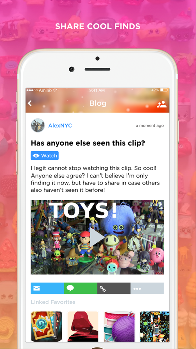 Collectibles Amino for Toys-3