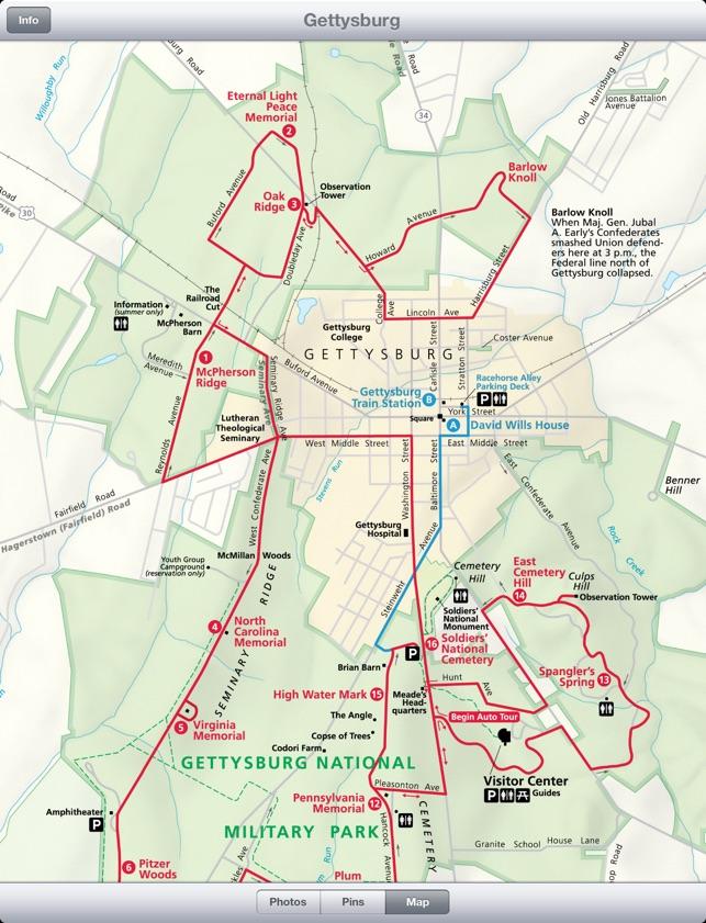 Gettysburg Auto Tour >> Gettysburg Auto Tour On The App Store
