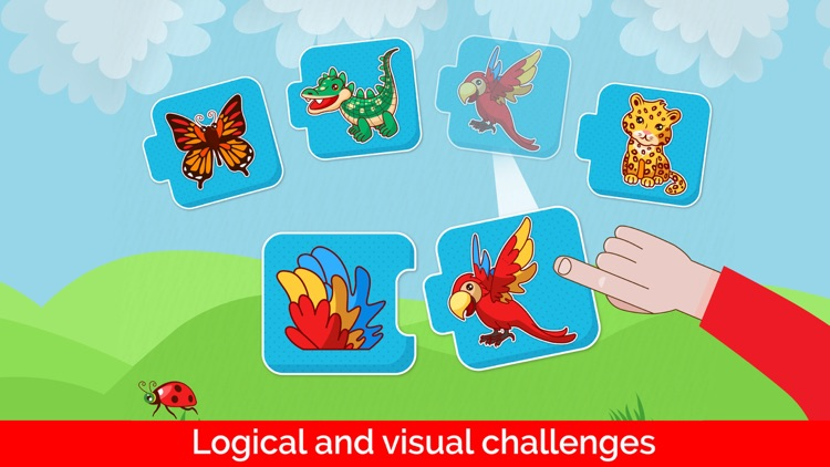 Baby games: puzzles for kids screenshot-3