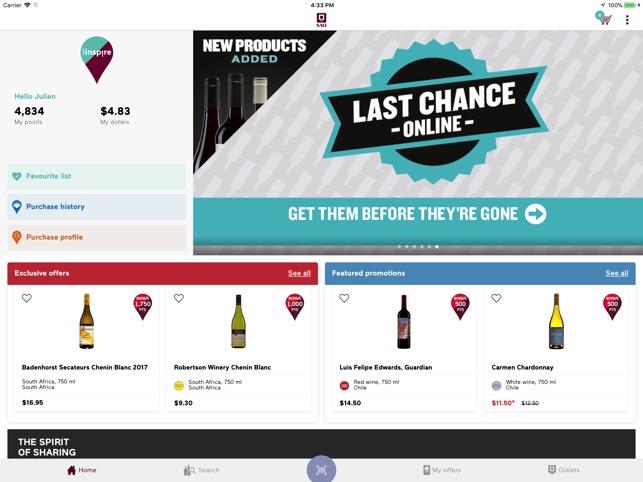 Vins, alcools, spiritueux, sAQ.com