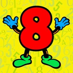 Number Color 1 2 3 4 5 6 7 8 9