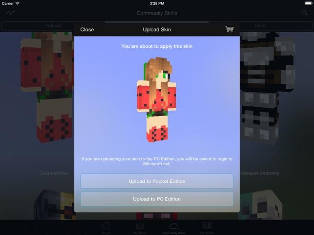 minecraft skin studio on the app store