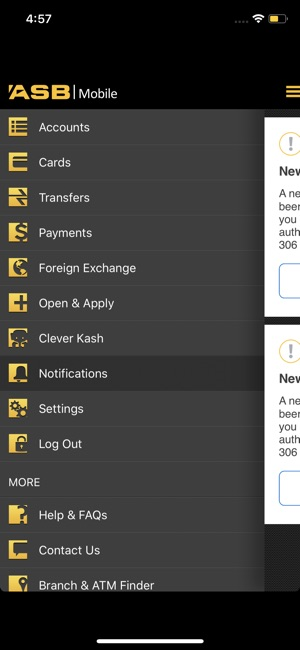 ASB Mobile Banking App Storessa