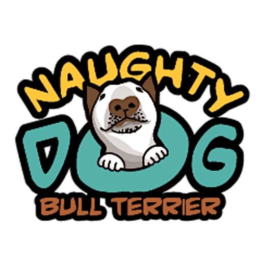 Bull Terrier Naughty Dog Emoji
