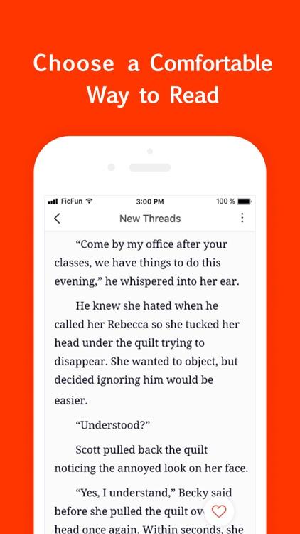 FicFun - Reading Fun Fiction screenshot-3