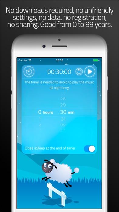 Asleep review screenshots