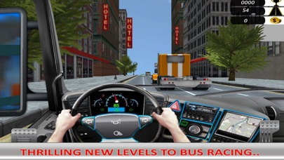 Racing Bus: Driving Big Car screenshot two