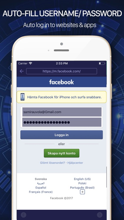 APP LOCK for iPhone - password