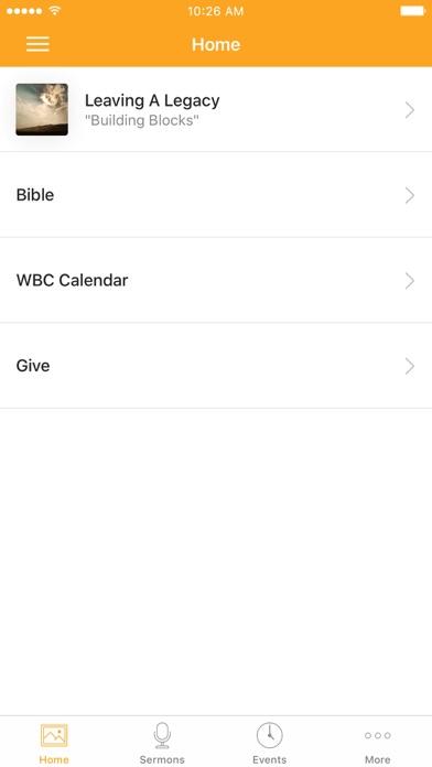 Westside App screenshot 1