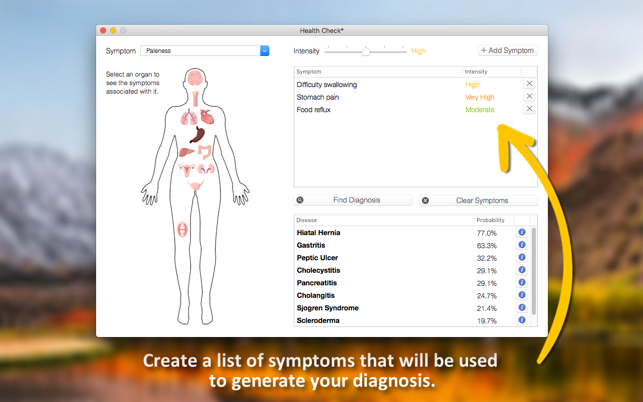 ‎Health Check - Symptom Checker Screenshot