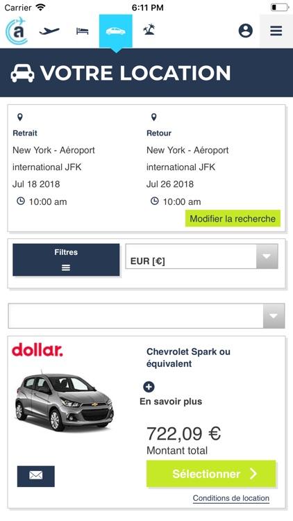 Algofly : vols, hôtel, voiture screenshot-6