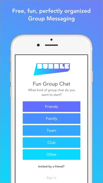 Bubble Group Messenger