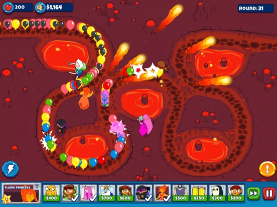 Bloons Adventure Time TD Screenshots