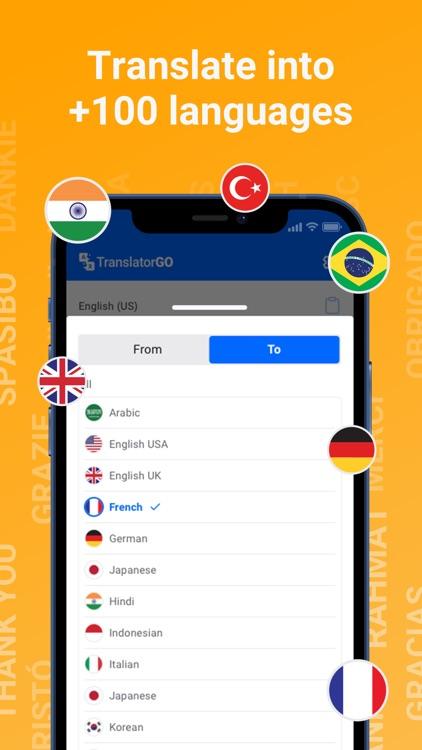 Translator GO: Easy Translate screenshot-3