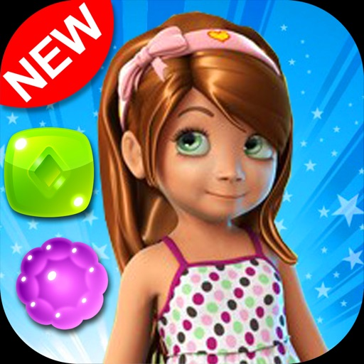 Candy Girl - Fun match 3 games