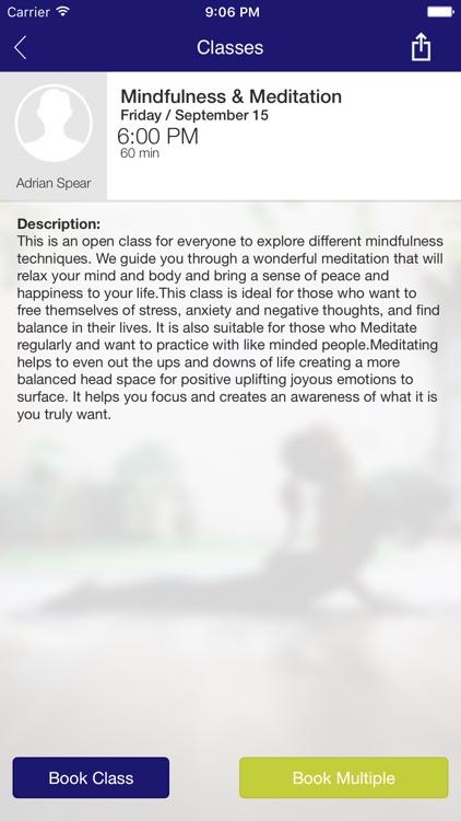Go Holistic, Yoga, Meditation screenshot-3