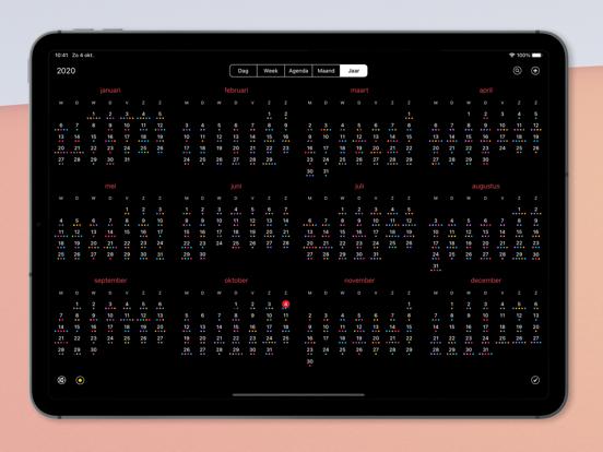 Calendar 366 iPad app afbeelding 7