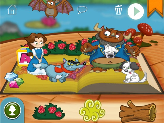StoryToys Beauty and the Beast Screenshots