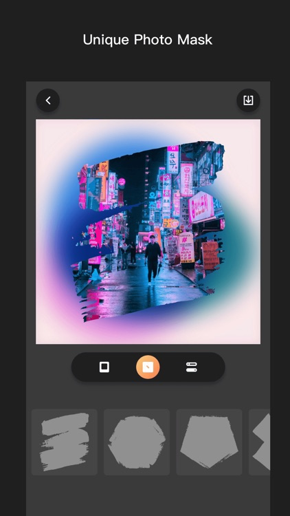 BKGD - photo background frame