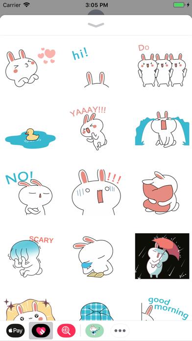 Bunny Happy Dance Animated screenshot one