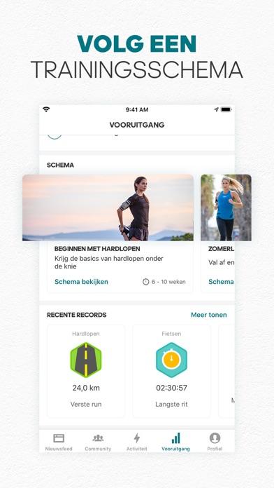adidas Running by Runtastic iPhone app afbeelding 7