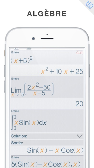 Screenshot for Calculator ∞ - Calculatrice in France App Store