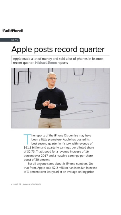 iPad & iPhone User magazine: Apple iOS to the core: news, tutorials, reviews and apps