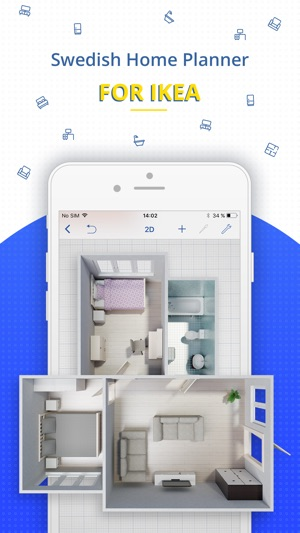 Screenshots & Swedish Home Planner for IKEA on the App Store