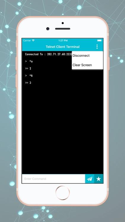 Telnet Client Terminal screenshot-3