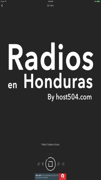 Radios en Honduras screenshot three