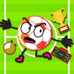 Soccer Ball Emoji Stickers