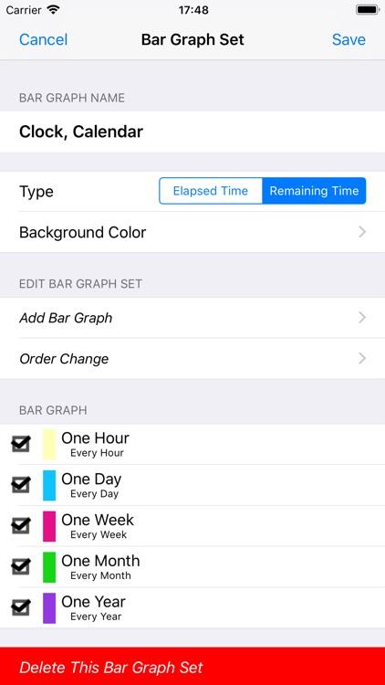 Bar Clock 3 screenshot-9