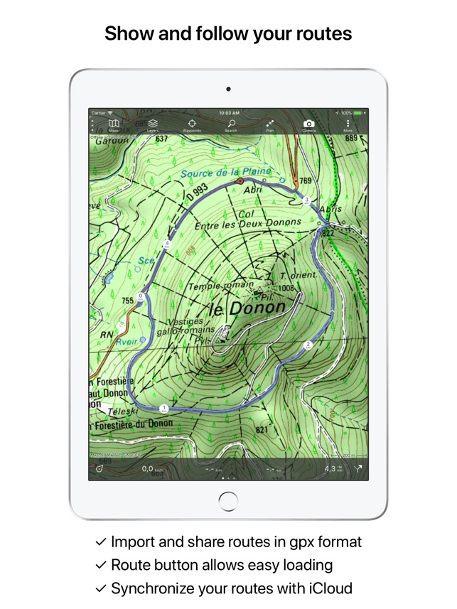 Topo Gps France On The App Store