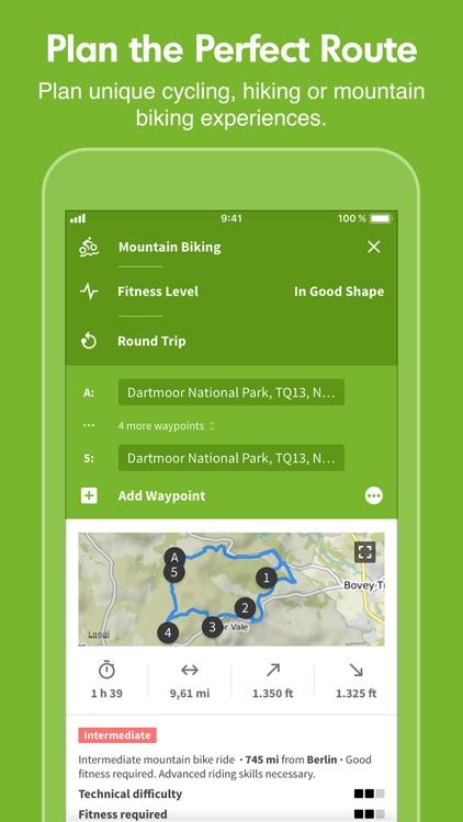 Komoot — Cycling & Hiking Maps screenshot-0