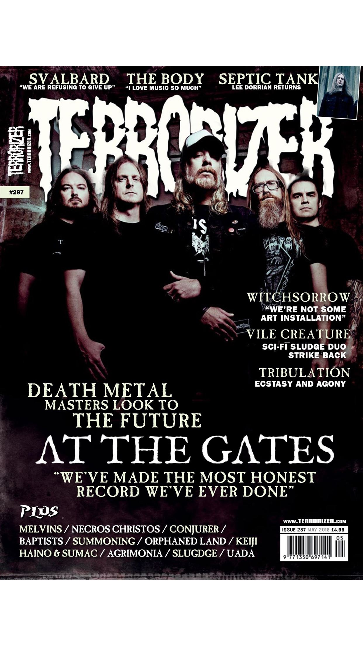 Terrorizer Magazine Screenshot