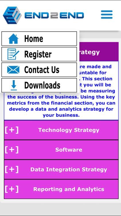 End 2 End Business Plan screenshot-3