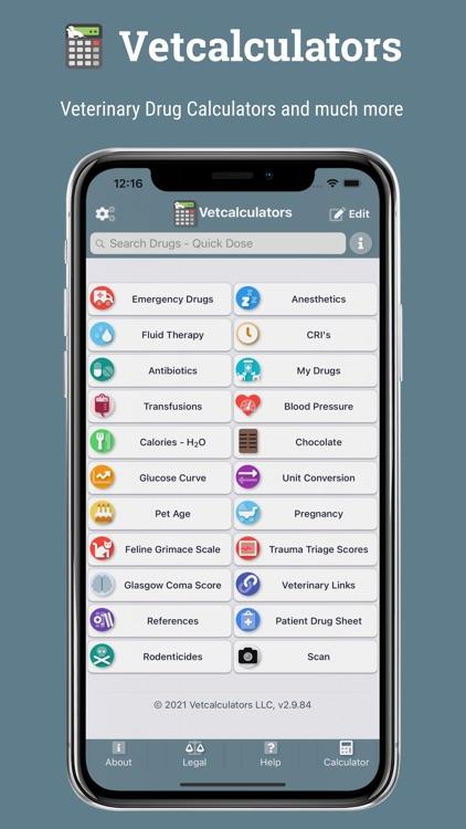Vetcalculators screenshot-0