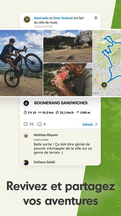 Komoot - Itinéraire vélo rando