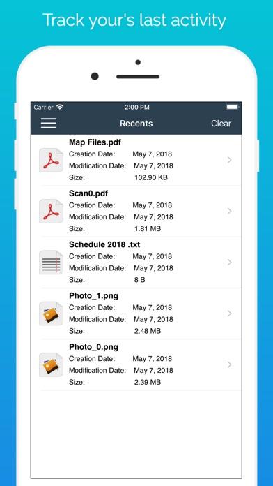 Диспетчер файлов - документы Скриншоты6