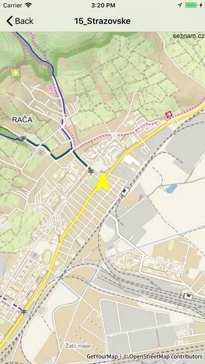 Slovensko MTB - cyklotrasy screenshot-3