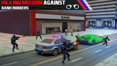 Bank Robbery 3D Police Escape-3