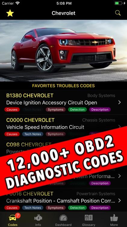 Diagnostic for Chevrolet