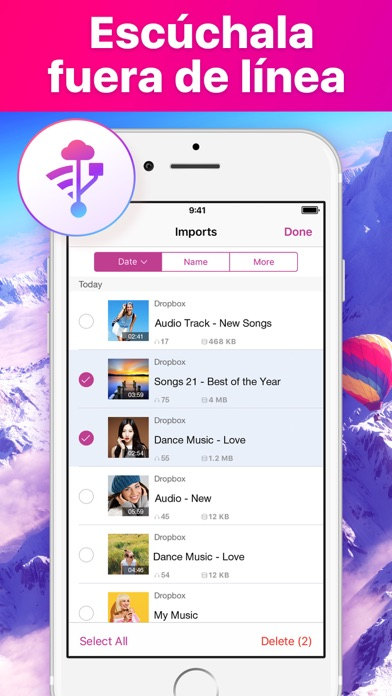 Screenshot for Reproductor de Música. in Colombia App Store