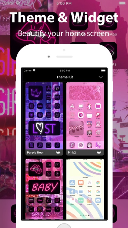 Wallpapers & Aesthetic Themes